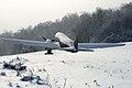 Vysny Komarnik zasnezene lietadlo Lisunov Li-2.jpg