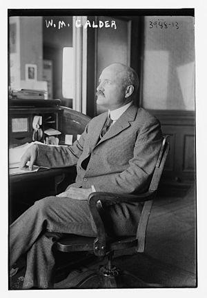 William M. Calder - Image: W.M. Calder (LOC)