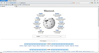 Pale Moon (web browser) - Image: W10 Pale Moon 26 Wikipedia