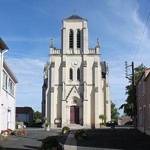 Saint-André-Treize-Voies - The church in Saint-André-Treize-Voies
