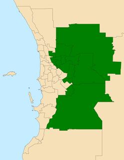 Electoral region of East Metropolitan