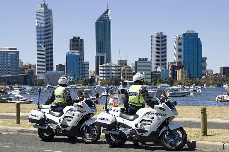 Image:WA Police Motorbikes Perth.jpg