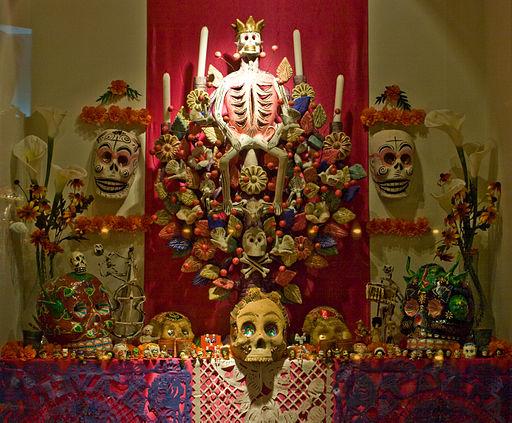 WLANL - Pachango - Tropenmuseum - Allerzielen-altaar Mexico