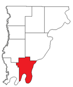 Location of Coffee Precinct in Wabash County