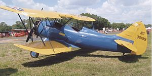 Waco F series - ex US Civilian Pilot Training Program 1941 Waco UPF-7