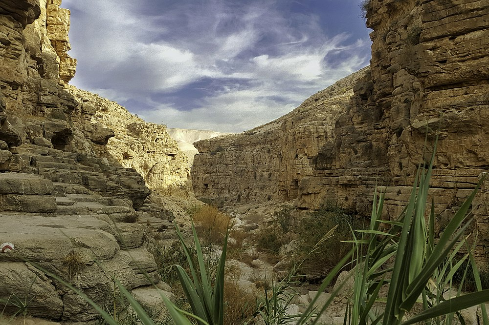 Wadi Qelt - canyon