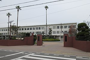 Wakayama Prefectural Koyo junior high school and high school.JPG