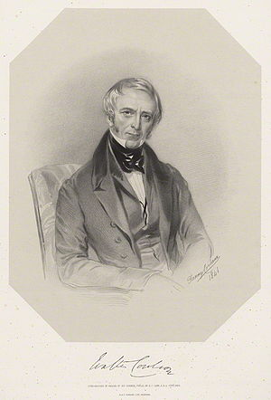 Walter Coulson - Walter Coulson, 1848 lithograph by Richard James Lane after Fanny Corbaux