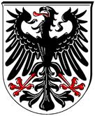 Das Wappen von Ingelheim am Rhein