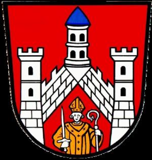 Bad Neustadt an der Saale - Image: Wappen Bad Neustadt (Saale)