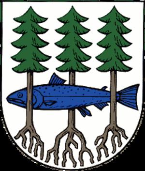 Waltershausen - Image: Wappen Waltershausen
