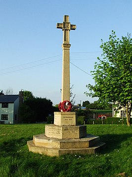 Oorlogsmonument in Risby