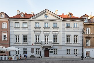 "Marie Curie - Birthplace on ulica Freta in Warsaw's ""New Town"" – now home to the Maria Skłodowska-Curie Museum"
