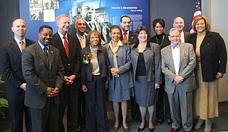 Eleanor Holmes Norton - Norton with members of the Council of the District of Columbia in 2007.