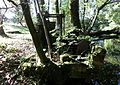 Water powered water pump - view at Hessilhead hamlet.JPG