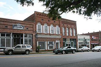 Waxhaw, North Carolina - Downtown Waxhaw