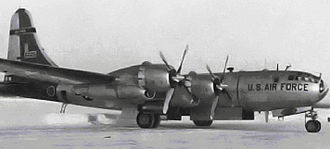 58th Weather Reconnaissance Squadron - WB-50 of the 58th Weather Squadron, Elelson AFB, Alaska