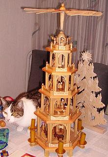 Addobbi Natalizi Tedeschi.Piramide Natalizia Wikipedia