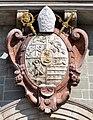 Weingarten Basilika Westfassade Wappen.jpg