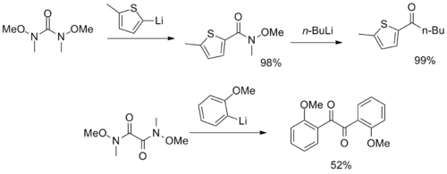Weinreb-amide-based synthons