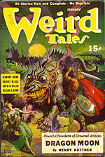 Weird Tales cover image for January-February 1941