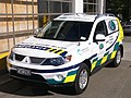Wellington Free Ambulance Patient Transfer Car 461, Mitsubishi Outlander.jpg