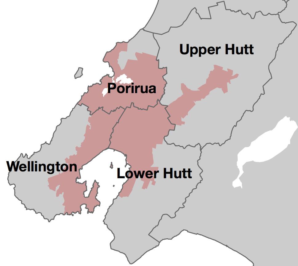 Wellington Urban Area