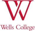 Wells College logo - red W.png