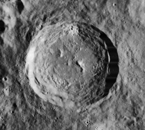 Johannes Werner - Werner Crater on the moon