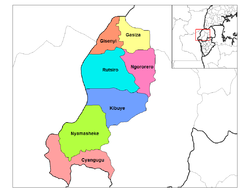 West Province districts.png
