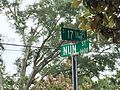 Westbrook-Ardmore Historic Close up street sign.jpg