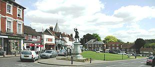 A view across Westerham Green