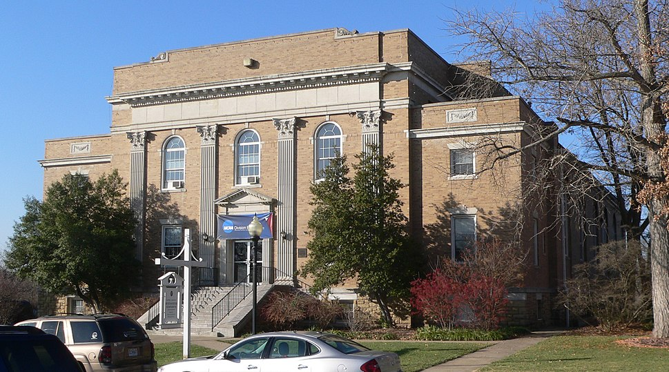 Westminster College gym from NE 1