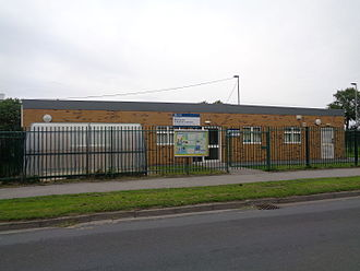 Sure Start - A Sure Start centre on the Hallfield Estate in Wetherby, West Yorkshire.