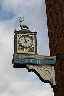 White Hart sign - geograph.org.uk - 357073