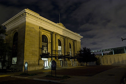 The former Union Station in Wichita (2009) - Wichita, Kansas