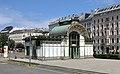Wien - Karlsplatz, Otto-Wagner-Pavillon (4).JPG