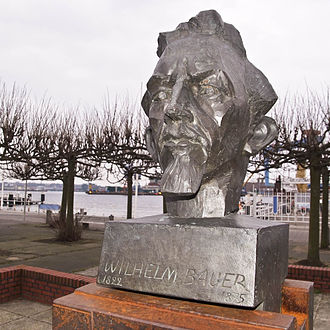 Wilhelm Bauer - Sculpture in Kiel, Germany