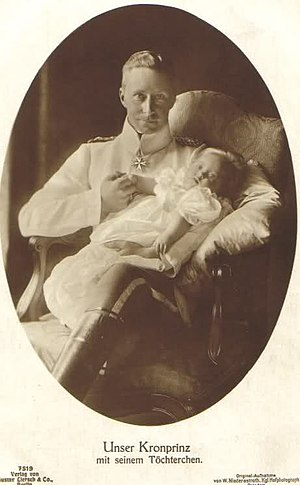Princess Alexandrine of Prussia (1915–1980) - Image: Wilhelm and Alexandrine