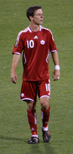 Will Johnson (soccer) - Will Johnson playing for Canada against El Salvador on July 7, 2009