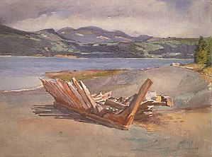 William Brymner - Image: William Brymner L'Isle aux Coudres