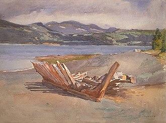 William Brymner - Image: William Brymner L'Isle aux Coudres