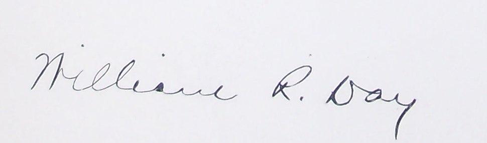 William R. Day's signature
