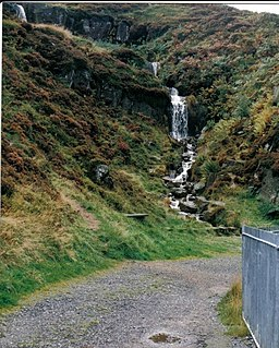 Willy Hall's Spout - Ilkley Moor - geograph.org.uk - 1629209