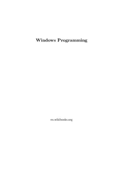 File:Windows Programming.pdf