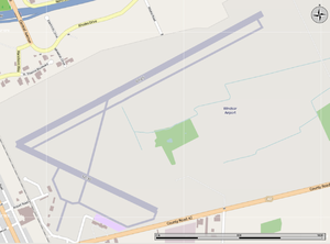 Windsor International Airport - Map of the Airport