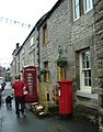 Winster Post Office, Derbyshire ... red and yellow. (3698529477).jpg