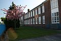 Wirral Grammar School View from Students Entrance in Spring.jpg