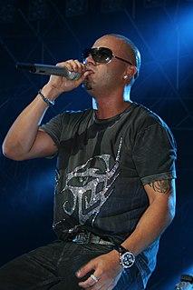 Wisin Puerto Rican reggaeton rapper and singer