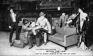 <i>Within the Law</i> (play) Play by Bayard Veiller